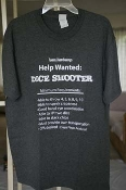 Dice Shooter (Charcoal shirt), size 2XL